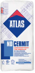 ATLAS Cermit ND 1,5 mm /2 mm - do malowania 25 kg